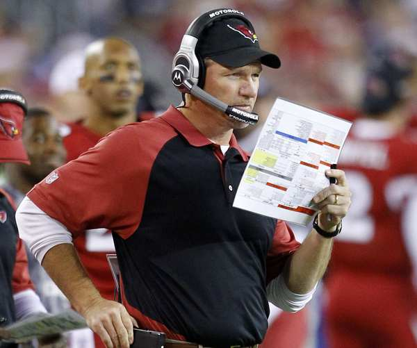 Arizona Cardinals head coach Ken Whisenhunt.
