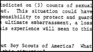 The Times on Tuesday released about 1,200 previously unpublished files kept by the Boy Scouts of America on volunteers and employees expelled for suspected sexual abuse.
