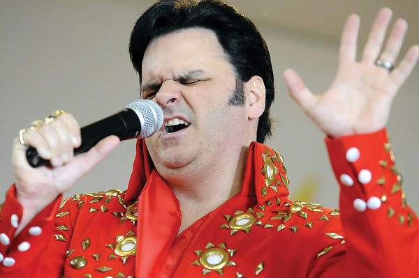 Kevin Booth will present two Elvis shows and a tribute to Conway Twitty from 7 to 11 p.m. Saturday, Jan. 5, at Hagerstown Elks, 11063 Robinwood Drive, east of Hagerstown.