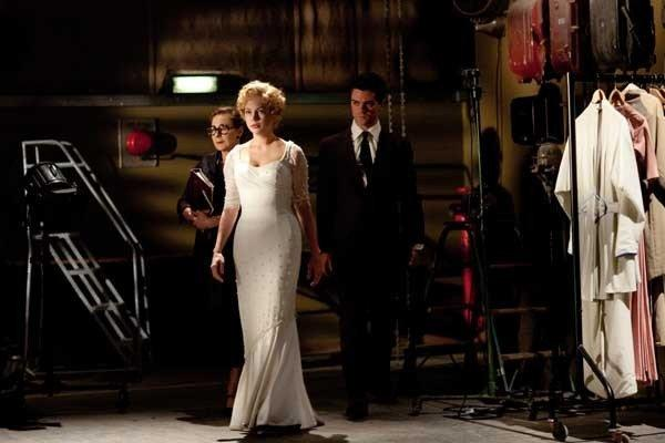 "Michelle Williams channels a certain breathy-voiced blond bombshell in the 2011 bio-pic ""My Week With Marilyn"" airing at 8 p.m. on TMC."
