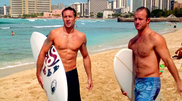 "Alex O'Loughlin & Scott Caan in CBS' ""Hawaii Five-0"""