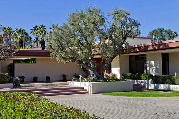 The desert retreat of President Gerald Ford and Betty Ford in Rancho Mirage was sold.
