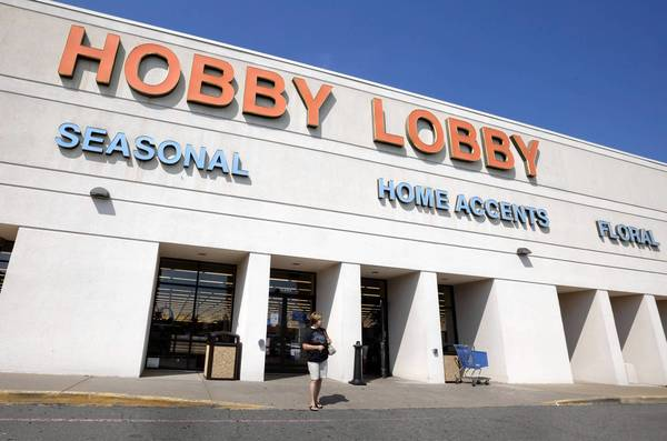 Craft stores chain Hobby Lobby says it will defy a federal healthcare mandate requiring employers to provide their workers with insurance that covers emergency contraceptives. Above, a store in Little Rock, Ark.
