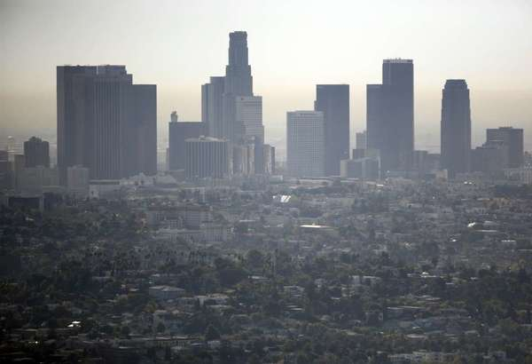 A view of Los Angeles from the Griffith Observatory