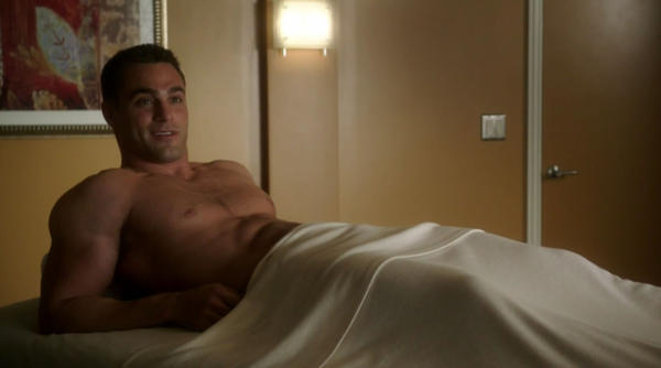 "Marco Dapper was one of the hotter guys on the massage table in the first season of Lifetime's ""The Client List."""
