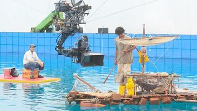 Bringing a raft of experience to 'Life of Pi'