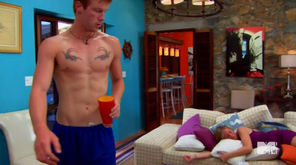 "Robb Schreiber in MTV's ""The Real World: St. Thomas."" Let's hear it for the gingers."