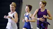 13 finishers in first indoor track marathon at HCC