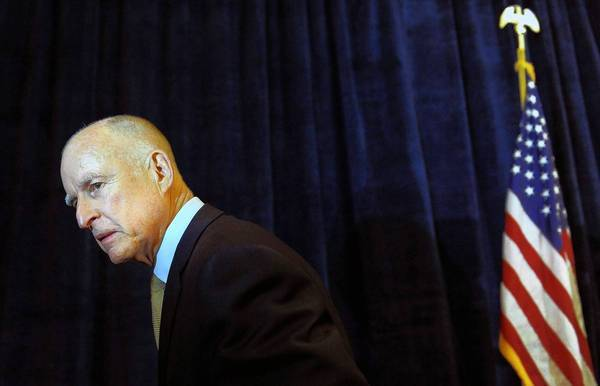 California Gov. Jerry Brown. (Wally Skalij / Los Angeles Times)