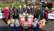 The UC Irvine Police Department collected more than 700 stuffed animals and toys for the holidays during its 2012 Teddy Bear Drive.