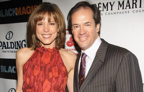 ESPN anchor Hannah Storm with husband and broadcaster Dan Hicks in 2008.