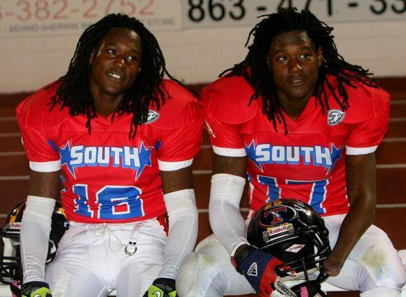 Shaquill and Shaquem Griffin, St. Petersburg Lakewood, UCF, photo, FACA all-star game