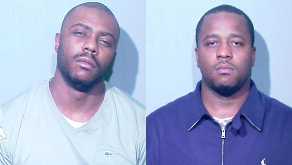 Yecary Harris (Left) has been charged with first-degree murder for fatal shooting on Sunday. Rodney Harris has been charged with fleeing police and other charges stemming from the shooting on the 200 block of East 51st Street.