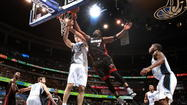 Vucevic delivers big Dwight Lite board impression | <b>Video</b>