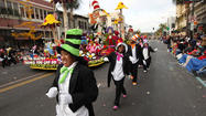 Rose Parade never loses its charm for longtime parade-goer