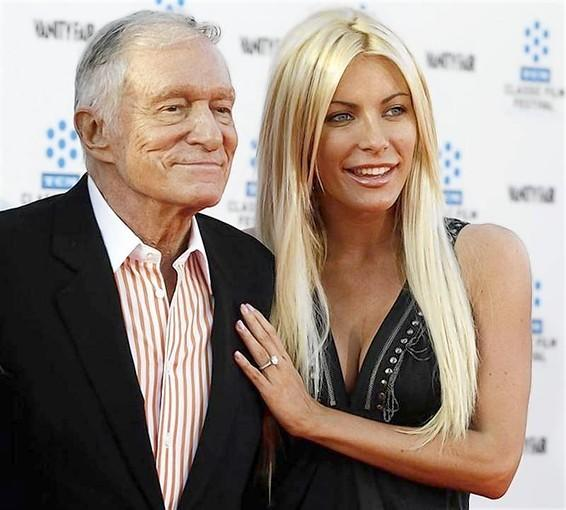 Playboy founder Hugh Hefner marries his 'runaway bride'