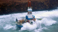 Shell Drilling Unit Kulluk Aground, 'Stable' near Kodiak