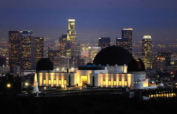 Griffith Park has been a perennial favorite for location scouts because of its cedar grove, mountain roads and iconic observatory, shown with downtown Los Angeles in the background.