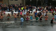 Icy plunge raises money for Fort Ritchie Community Center