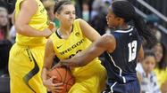 The first game ever between the UConn women and Oregon on Monday will be followed by the second game ever next season in Connecticut.