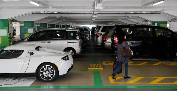 Parking spaces in Hong Kong are selling for as much as six figures after the government took steps to curb housing prices.