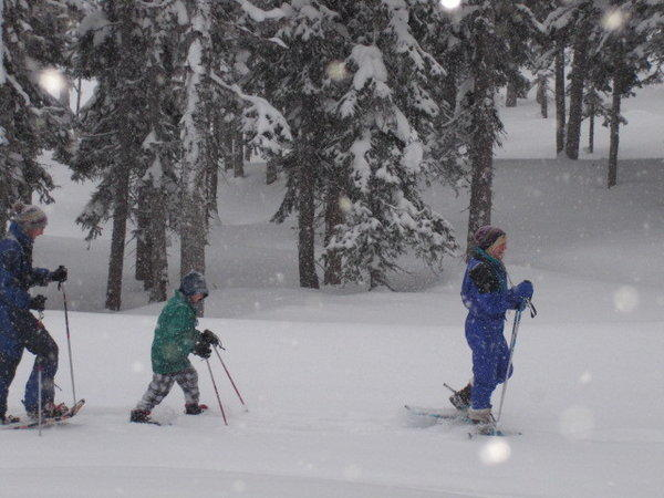 Guests of all ages can enjoy snowshoeing on three new trails at a ski resort in northern British Columbia.