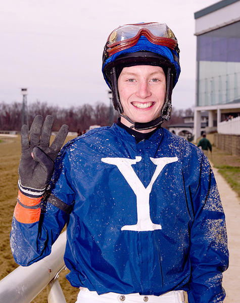 Trevor McCarthy, 18, rang in the new year with four wins at Laurel Park. McCarthy visited the winner's circle aboard Kincaid ($3.20-second for trainer Dale Capuano), Merryland Moon ($5.60-fourth for trainer Mike Trombetta), Bluegrass Kopp ($24.80-fifth for trainer Ferris Allen) and Proud Daddy ($18.20-seventh for trainer Linda Albert).