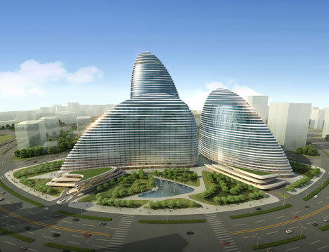 The design for the Wangjing Soho.