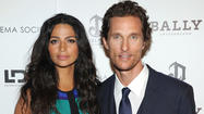 "<span>Matthew McConaughey announced on his Whosay page his newborn son is named Livingston. ""Camila gave birth to our third child yesterday morning. Our son, Livingston Alves McConaughey, was born at 7:43 a.m. on 12.28.12,"" he wrote online Saturday night. ""He greeted the world at 9 lbs and 21 inches. Bless up and thank you for your well wishes."" The couple, who married last June, also have a two-year-old daughter and four-year-old son.</span>"