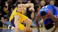 The Lakers lost Tuesday night to the Philadelphia 76ers, 103-99, at Staples Center.