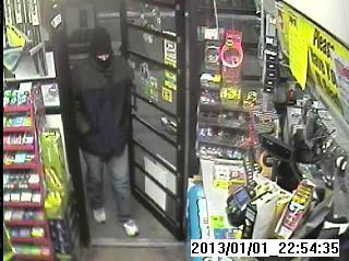 Plainfield Police Department responded to a robbery at the BP gas station on Putnam Road Tuesday night.