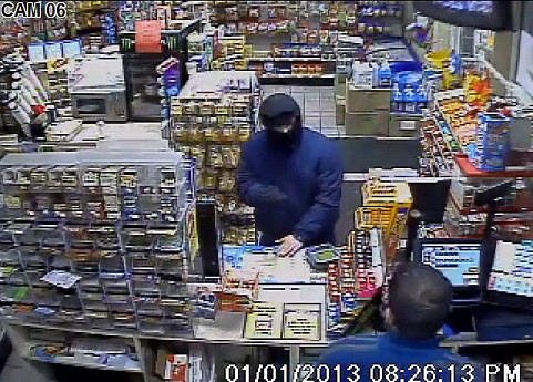 Manchester Police are investigating an armed robbery that occurred on Tuesday, January 1 at the Citgo gas station on West Middle Turnpike.