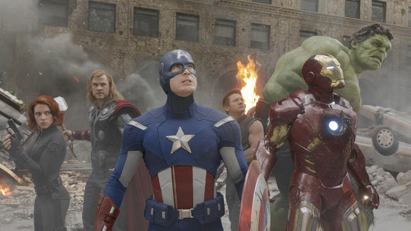 "The wildly-popular ""Avengers"" was rated the most overrated film of 2012 by LA Times filmgoers."