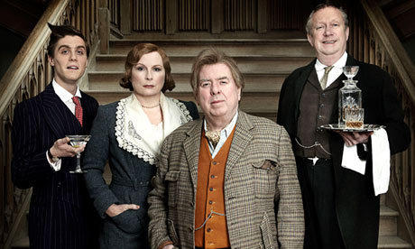 "The cast of BBC1's ""Blandings,"" based on the books by P.G. Wodehouse"
