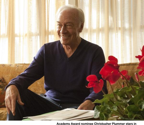 "Christopher Plummer in the Oscar winning role in the film ""Beginners"""