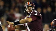 As he sat still basking in the glow of his first bowl win as a starter that came as a result of one of the most unsatisfying offensive performances in Virginia Tech's recent history, Logan Thomas was asked for the umpteenth time about his future plans.