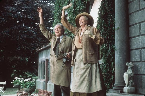 "Michael Gambon stars as Sir Richard Naylor and Maggie Smith stars as Lady Myra in Trimark Pictures' drama ""The Last September,"" based on the novel by Elizabeth Bowen."