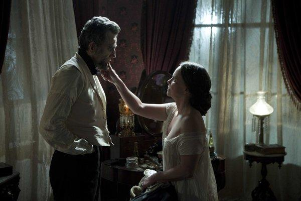 "Daniel Day-Lewis and Sally Field star in Steven Spielberg's ""Lincoln"" which was nominated for the Producers Guild of America Award"