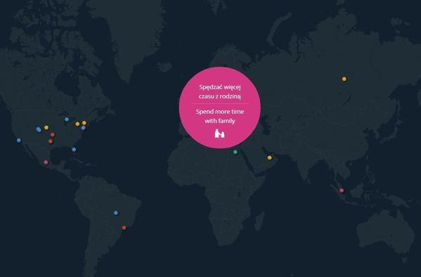 A screen grab from Google's interactive resolutions map.