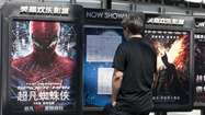 China's movie business continued its rapid growth in 2012, and for the first time in four years Hollywood imports accounted for the majority of the business.