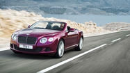 Detroit Auto Show: Bentley previews 200 mph convertible