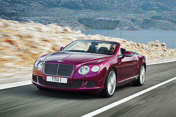 The Continental GT Speed Convertible is Bentley's flagship convertible. It is set to make its world debut at the 2013 Detroit Auto Show.