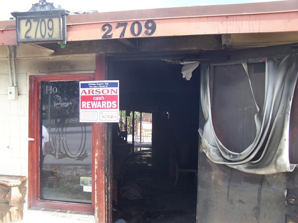 An early morning blaze that gutted a Delray Beach hookah lounge on Jan. 1, 2013 was being investigated as an arson, said a spokeswoman with the Florida Division of State Fire Marshal. The fire caused an estimated $70,000 in damages.