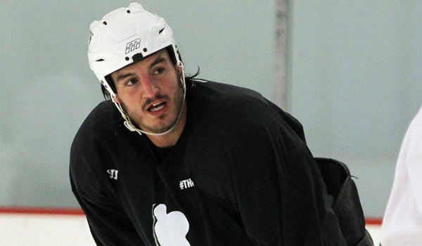 Kings forward Kevin Westgarth is said to have been part of a delegation from the NHL Players' Assn. that continued collective bargaining talks with the league Wednesday.