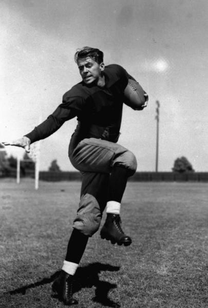 "The movie ""Knute Rockne, All American,"" co-starring Ronald Reagan as George Gipp, makes its debut. America's future 40th president would later dust off the famous ""Win one for the Gipper"" line--which Coach Rockne reputedly used in a halftime speech--as a political slogan."
