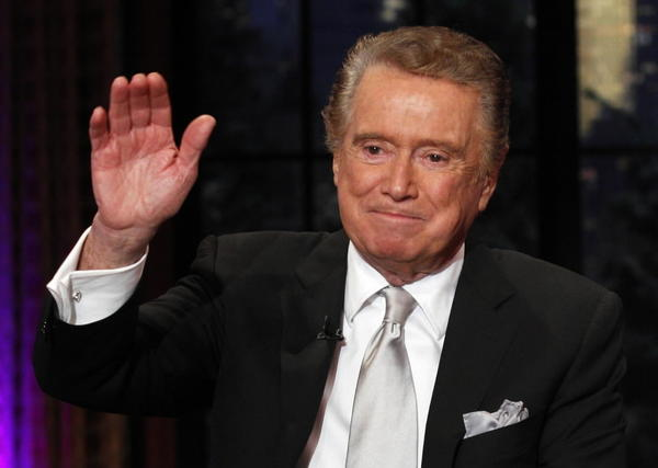 "Regis Philbin sets a Guinness World Record for ""Most Hours On Camera."" Not a small amount of that time was spent chattering on about his alma mater¿you guessed it: Notre Dame¿while a co-host of his ""Live!"" talk show with Kathie Lee Gifford and Kelly Ripa."