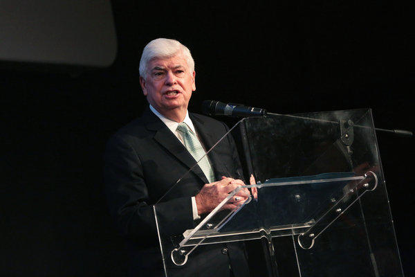 MPAA Chief Executive Chris Dodd, shown speaking at the Rome Film Festival in November, has been a strong proponent of U.S. tax breaks for the film industry.