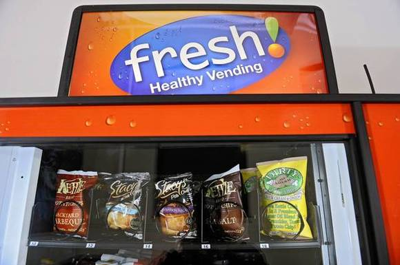 Fresh Healthy Vending machine
