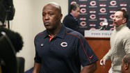 Former Bears coach Lovie Smith
