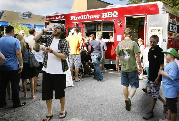 In July, more than 1,000 people enjoyed the first Food Truck Bazzar in downtown Mount Dora, according the Chamber of Commerce.